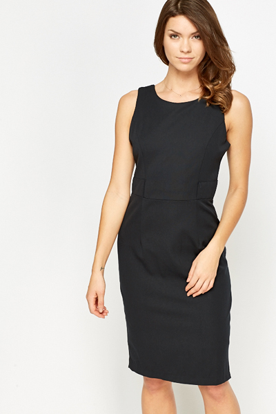 Sleeveless Pencil Dress