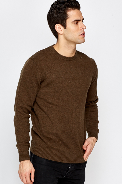 Knitted Basic Sweater