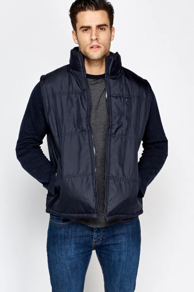 Quilted Mens Bodywarmer