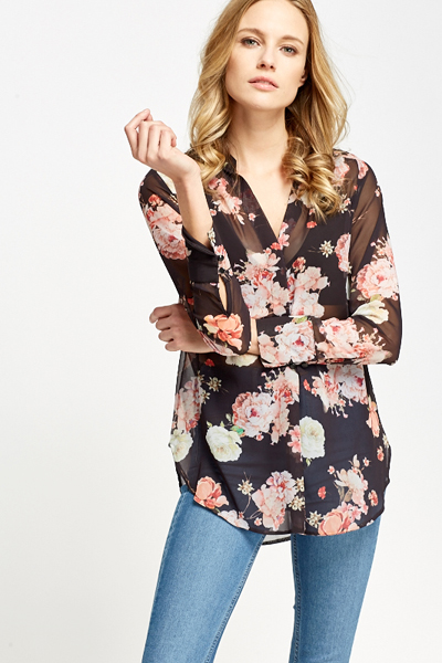 Find great deals on eBay for sheer black blouse. Shop with confidence.