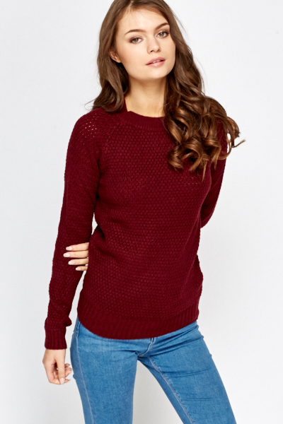 Soft Round Neck Jumper