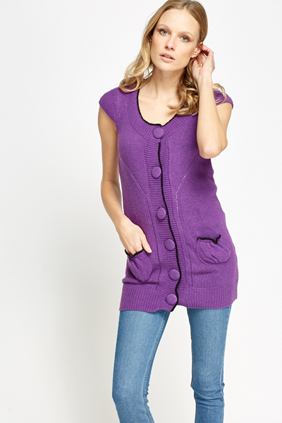 Large Button Cardigan