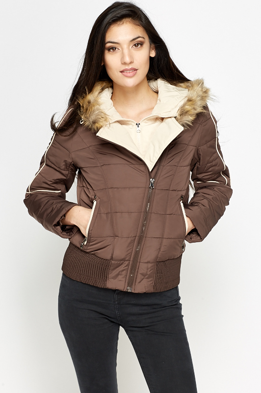 Brown Padded Coat - Just £5