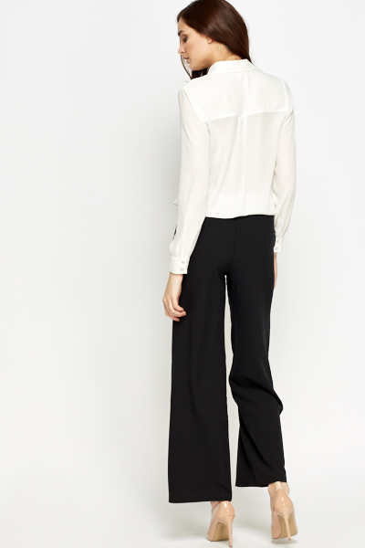 Classic Wide Leg Trousers