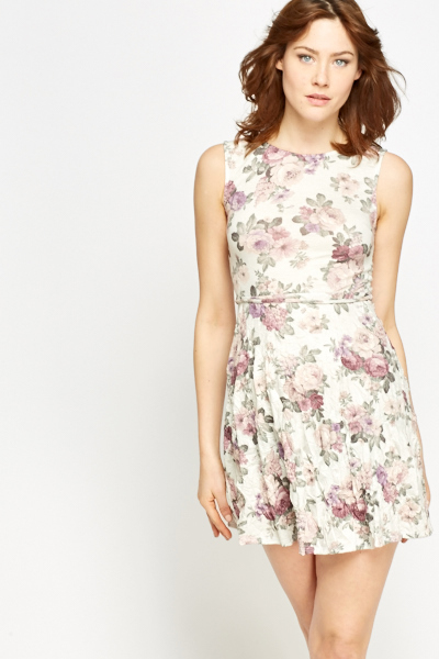 Summer Floral Mini Dress