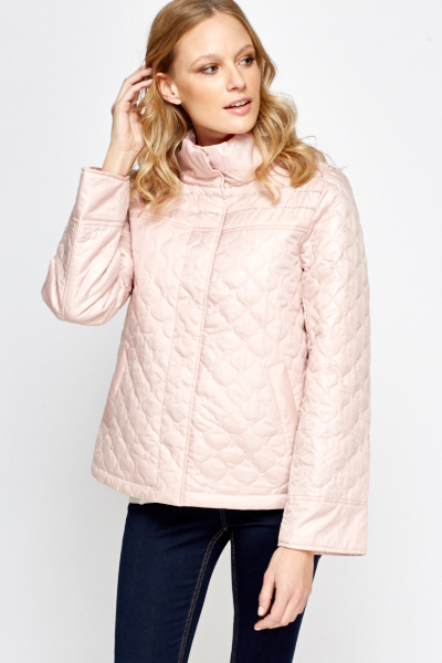 Light Pink Quilted Jacket - Just £5