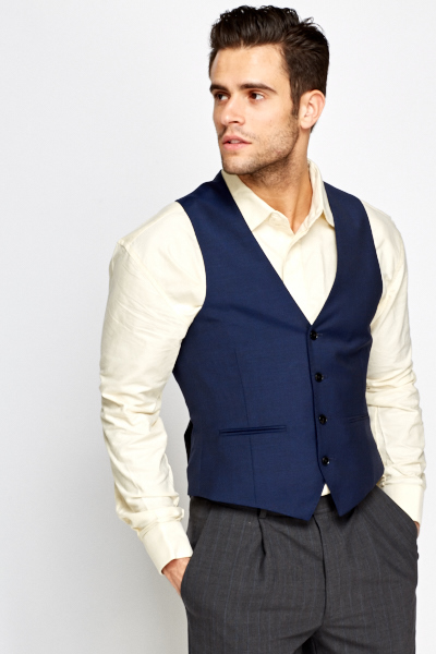 Midnight Slim Fit Waist Coat