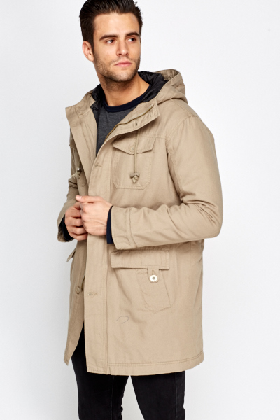 Soil Casual Hooded Parka