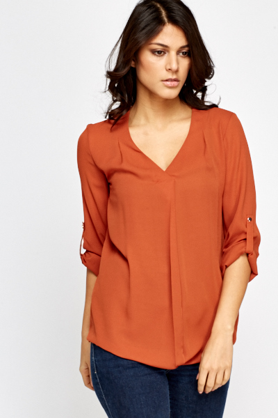 Casual Silky Blouse