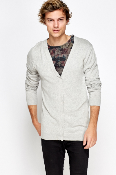 Cotton Button Up Cardigan
