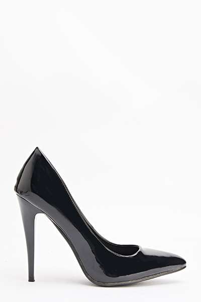 Hi-Shine Pointed Court Shoes