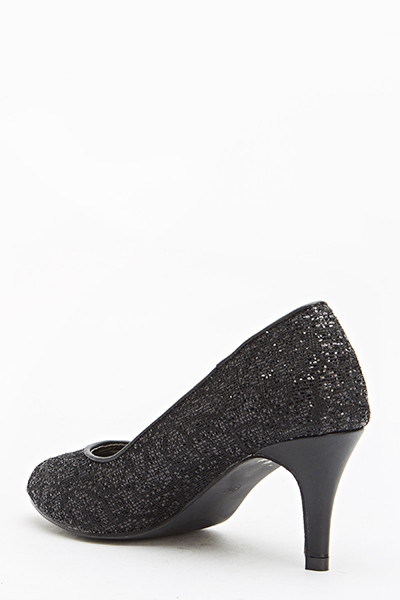 Sparkly Court Shoes