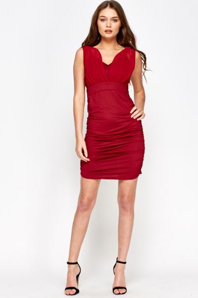 Ruched Back Dress - Just £5 41fd5796d