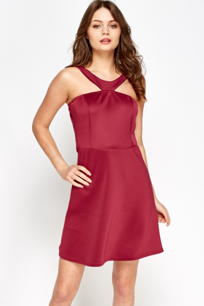 42d33341b1a2 Magenta Swing Dress - Just £5
