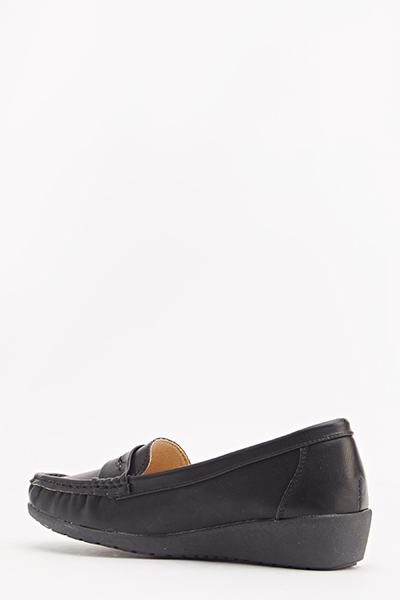 Casual Wedge Loafers