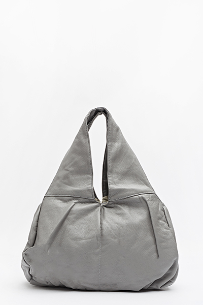 Textured Hobo Bag