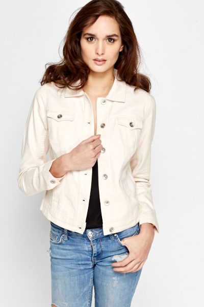 Light Pink Denim Jacket - Just £5