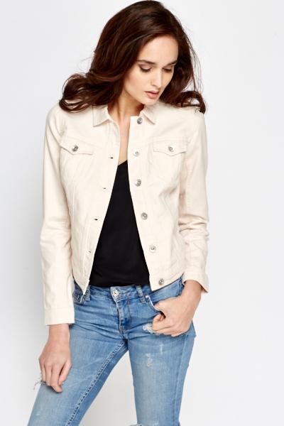 Light Pink Denim Jacket - Just £5