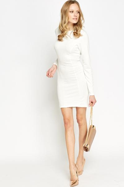 1d729199ba63 Long Sleeves Bodycon Dress - Just £5
