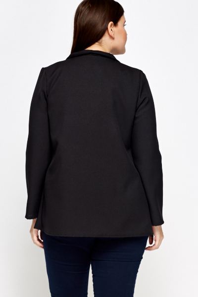 Black Waterfall Smart Jacket