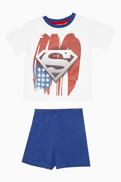 Superman Top And Shorts Set