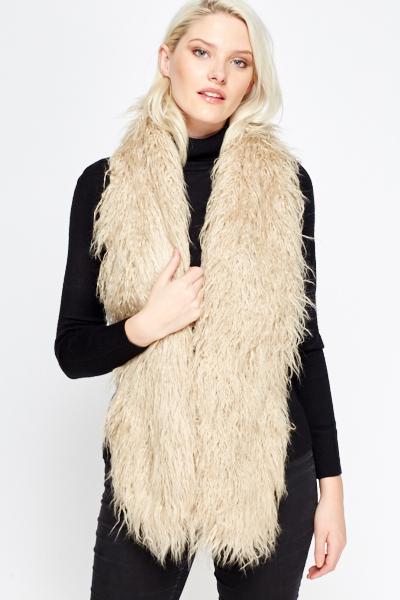 Image of Faux Fur Stole