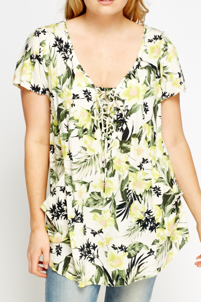 Wild Floral Tunic