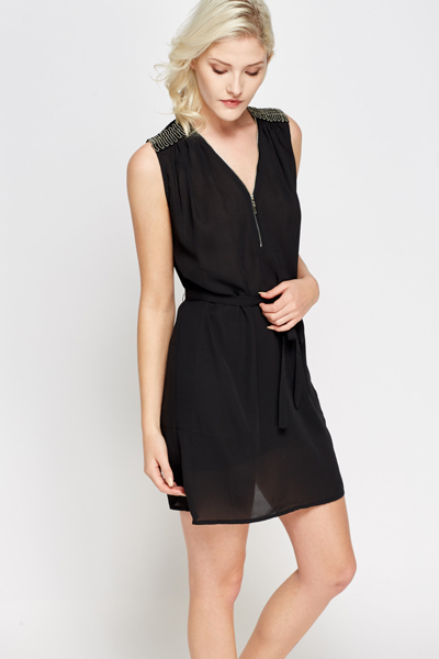Zip Neck Tunic