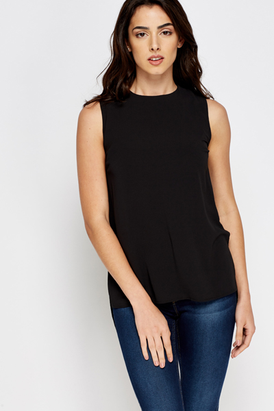Black Shell Top