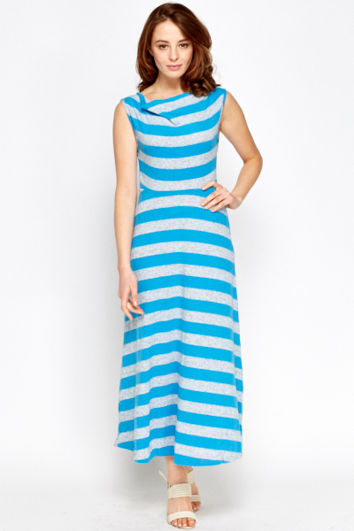 Cowl Neck Soft Maxi Dress