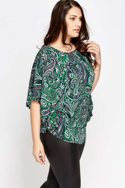 Ornate Paisley Top