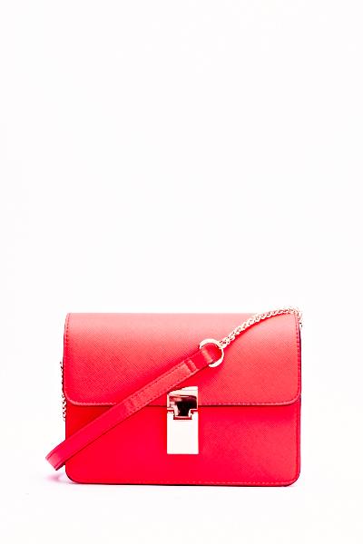 Mini Red Crossbody Bag