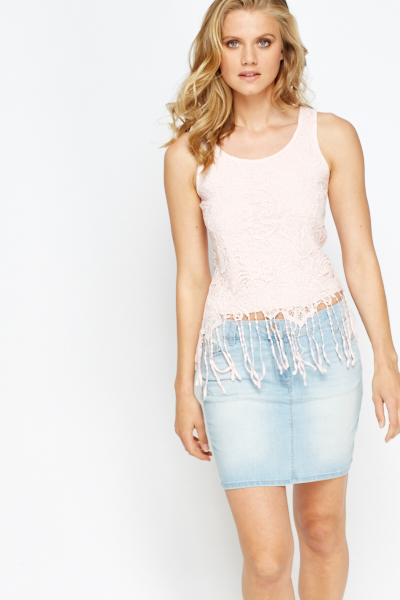 Crochet Overlay Top