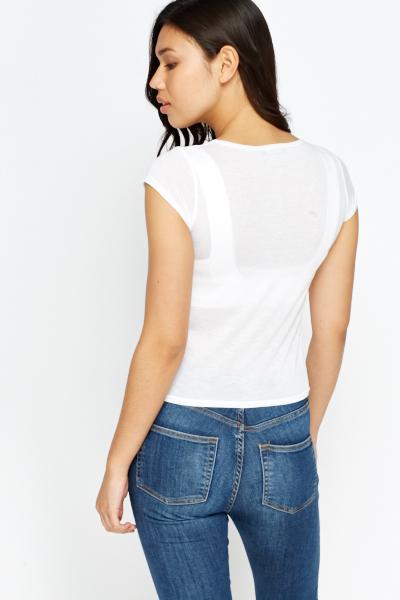 sheer white tshirt just 1635