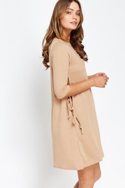 2e64af60bb4e2 graziella camel cut waist bandage dress available via PricePi.com ...