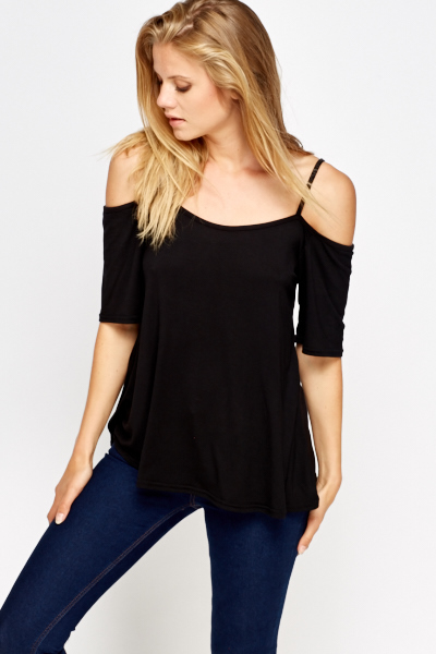 2752b1068906d Casual Cold Shoulder Top - Just £5