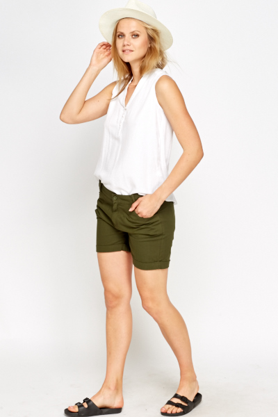 Cotton Casual Shorts