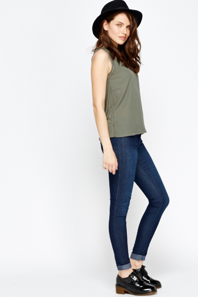 Slim Fit Long Leg Jeans