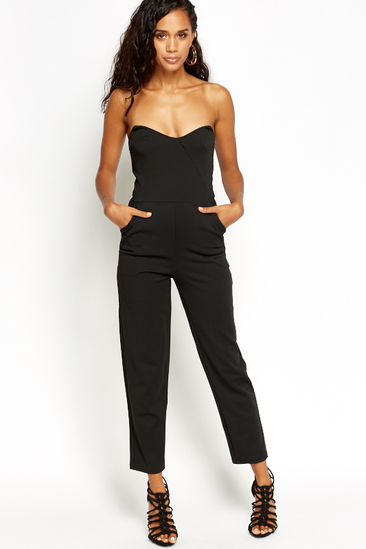 98996ee35a4 Bandeau Tapered Jumpsuit - Just £5
