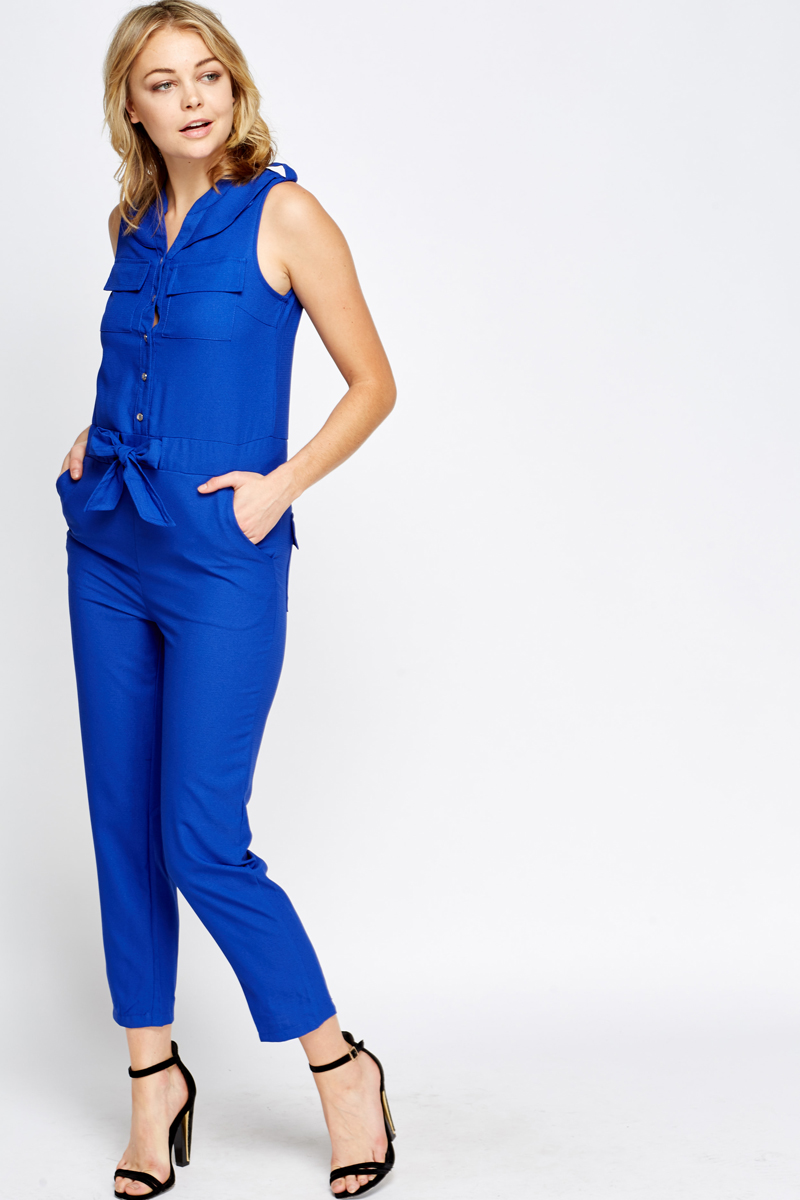 Wonderful High Neckline Halter Tie Up Jumpsuit Item No Clothing Tops Jumpsuit
