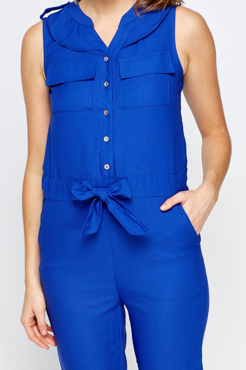 Amazing Blue Womens Jumpsuit - Breeze Clothing