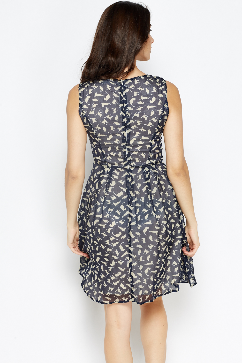 Buy CowCow Womens Cats Kitten Lovely Colorful Pattern Skater Dress, XS-5XL and other Casual at yageimer.ga Our wide selection is elegible for free shipping and free returns/5(10).