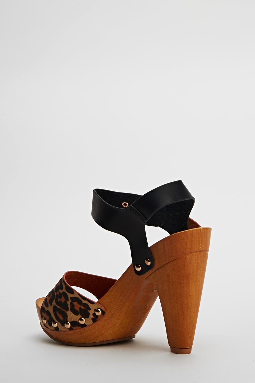 d929c8a36 Wooden Sole Sandals - Just £5