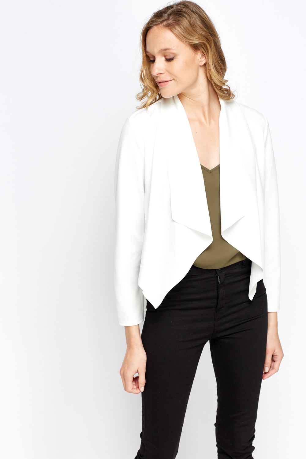 Waterfall Cropped Cardigan - Just £5