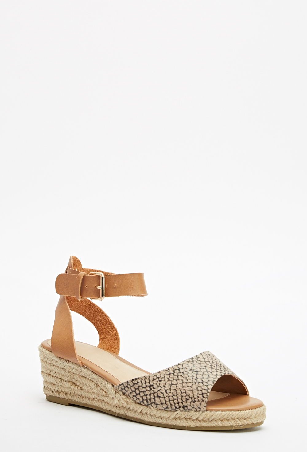 c03d1a7868d Open Toe Espadrille Wedge Sandal - Just £5