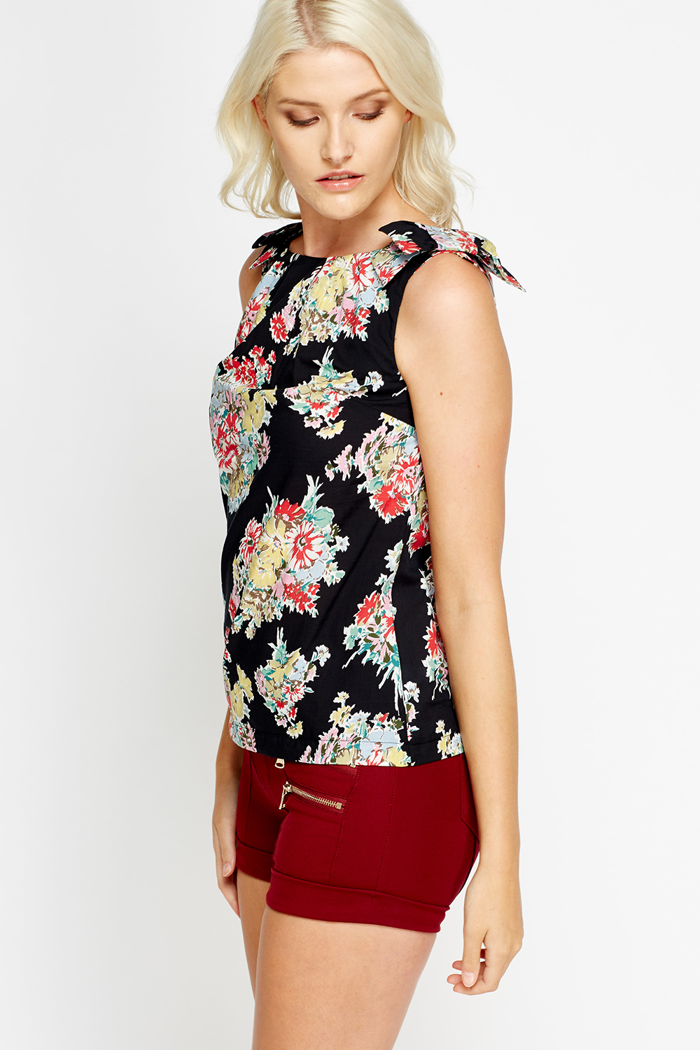 4d7f1d4807889a Printed Shell Top - Just £5