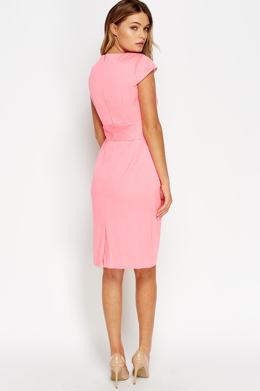 06ec07eaee8 Detailed Waist Smart Dress - Just £5