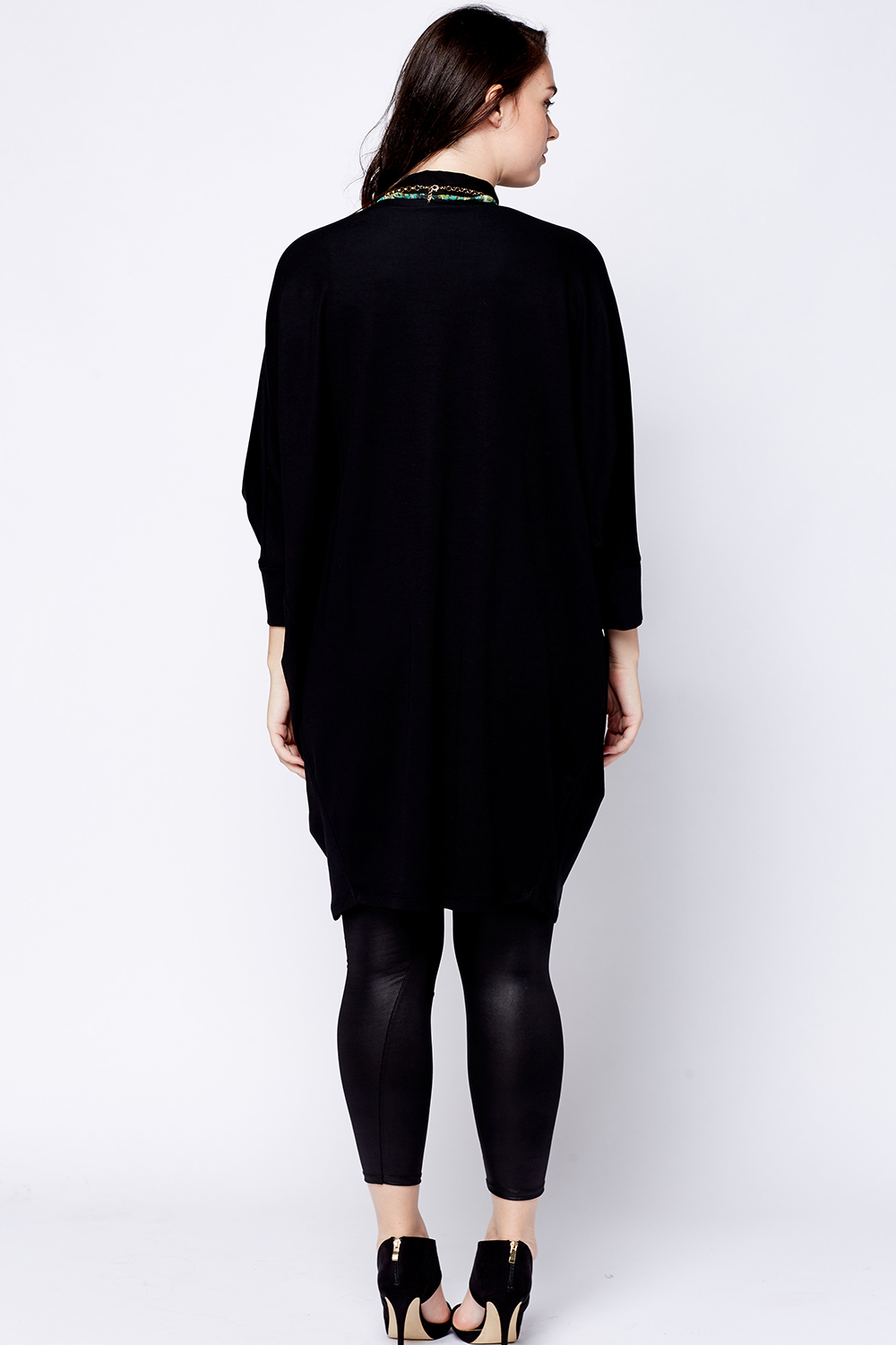 Long Line Batwing Cardigan - Just £5