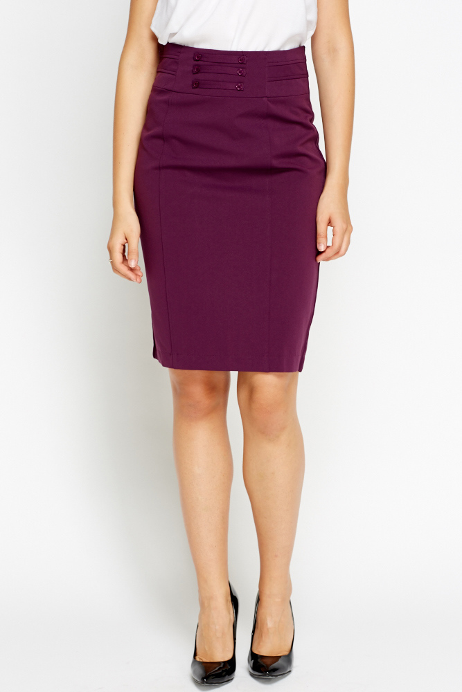 high waisted formal pencil skirt just 1635
