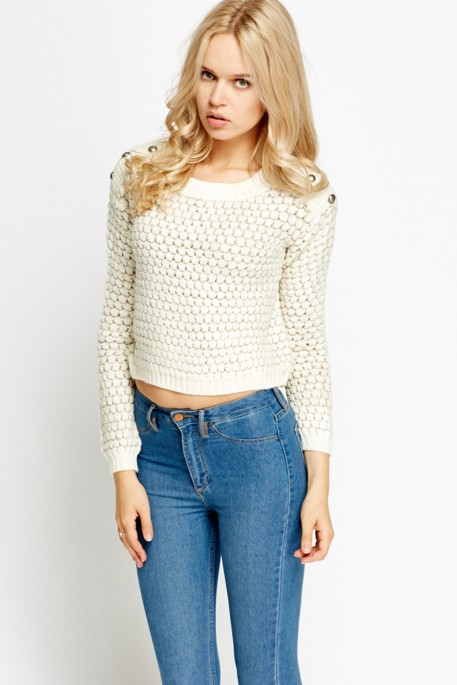 Loose Knit Slouchy Jumper - Just $6